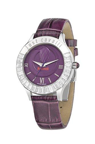 Just Cavalli Damen Armbanduhr Analog Quarz Leder R7251597503
