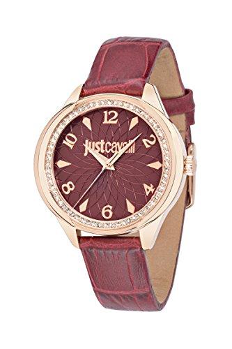 JUST CAVALLI Damen Armbanduhr JC01 Analog Quarz Leder R7251571508