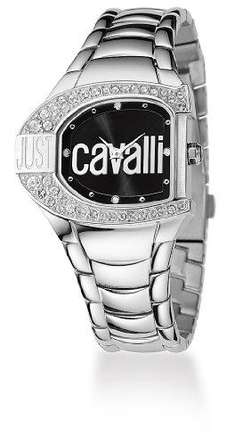 Just Cavalli Logo Just time mit Kristallen R7253160525