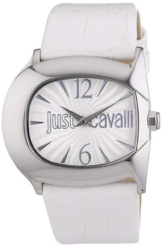 Just Cavalli Damen-Armbanduhr Analog Quarz Leder R7251525501