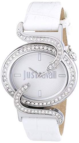 Just Cavalli Damen-Armbanduhr SIN Analog Quarz Leder R7251591502