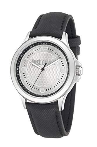 Just Cavalli Herren-Armbanduhr JUST IRON Analog Quarz Leder R7251596002