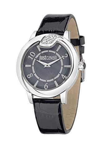 Just Cavalli Damen-Armbanduhr SPIRE Analog Quarz Leder R7251598501