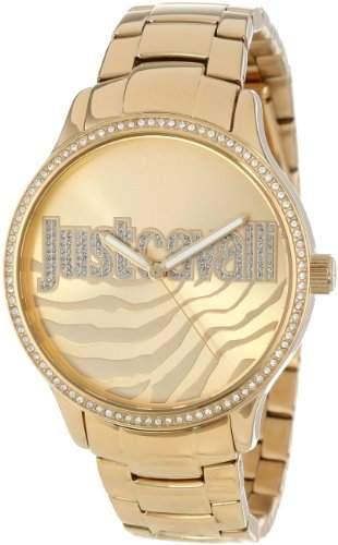 Just Cavalli Damen-Armbanduhr HUGE Analog Quarz Edelstahl beschichtet R7253127508