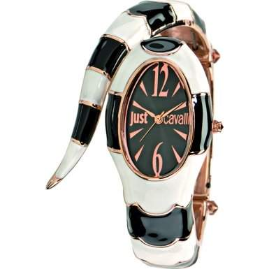 Just Cavalli Damen-Armbanduhr Analog Quarz Edelstahl R7253153506