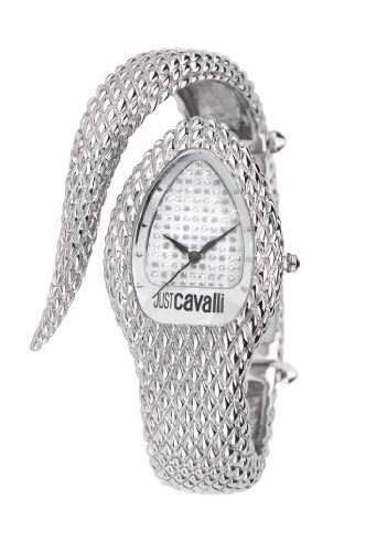 Just Cavalli Damen-Armbanduhr POISON Analog Quarz Edelstahl R7253153515