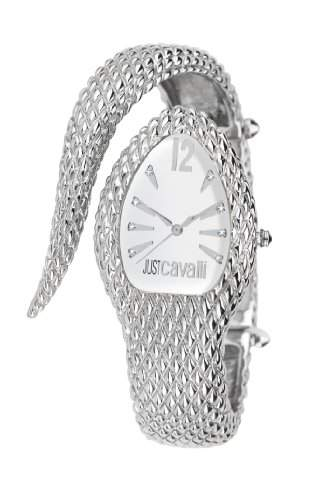 Just Cavalli Damen-Armbanduhr POISON Analog Quarz Edelstahl R7253153645