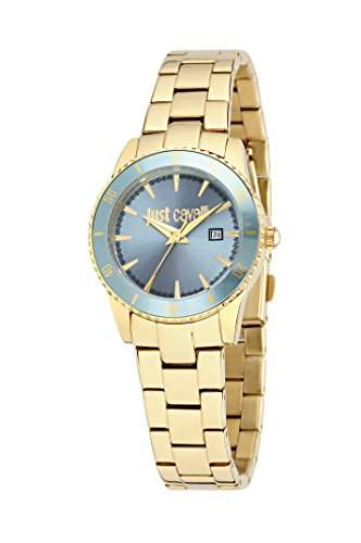 Just Cavalli Damen-Armbanduhr JUST IN TIME Analog Quarz Edelstahl R7253202501