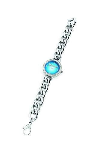 Just Cavalli Damen-Armbanduhr J CHAIN Analog Quarz Edelstahl R7253212503