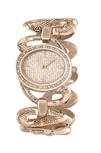 Just Cavalli Damen-Armbanduhr SINUOUS Analog Quarz Edelstahl R7253577507