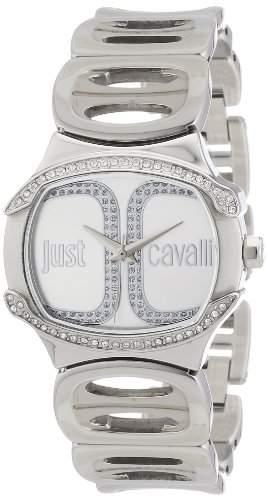 Just Cavalli Damen-Armbanduhr Analog Quarz Edelstahl R7253581502