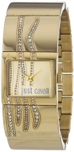 Just Cavalli Damen-Armbanduhr PATTERN Analog Quarz Edelstahl R7253588501