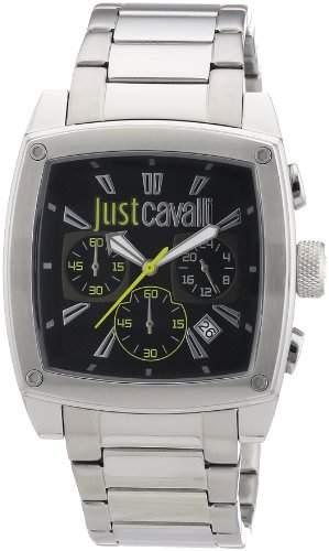Just Cavalli Damen-Armbanduhr Pulp Chronograph Quarz Edelstahl R7273583001