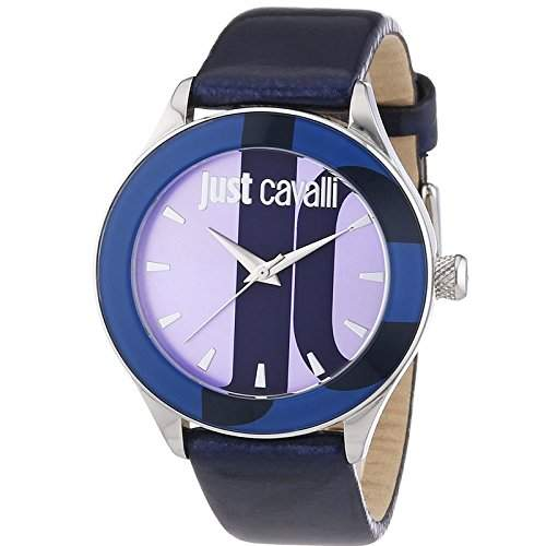 Just Cavalli Damen-Armbanduhr Analog Quarz Leder R7251592503