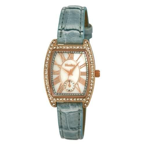 Henley Damen-Armbanduhr Analog Quarz Kunststoff H060886