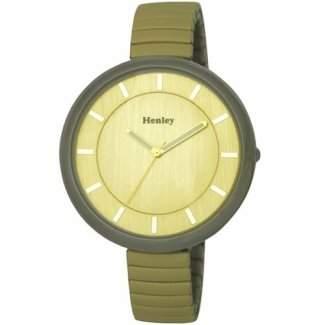 Henley Damen Mode Expander-Armband-Uhr H071802 CREAM