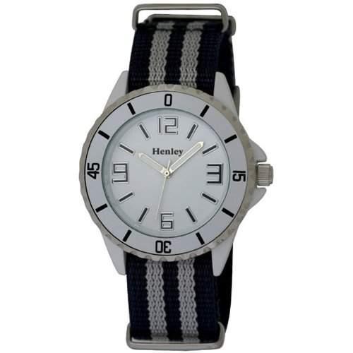 Henley Damen-Armbanduhr Henley Summer Nylon Strap Fashion Watch Analog nylon mehrfarbig H08836