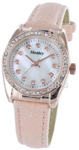 Henley mit Stone Set Perlmutt Effekt Zifferblatt h06075 5