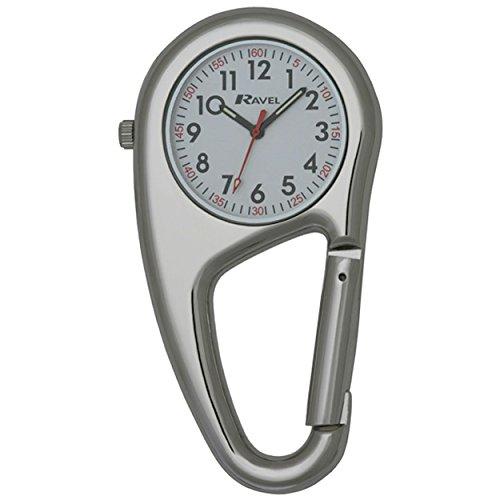 A Taschenuhr Uhr Unisex Karabiner Docteurs Krankenschwestern durch Ravel R1105 01