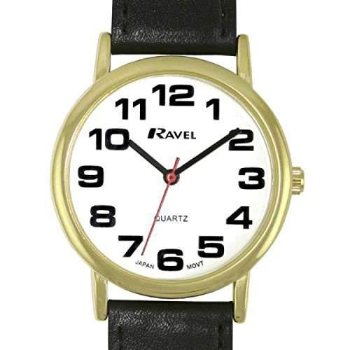 Ravel- R0105051 - klasssische Herrenuhr mit schwarzem Armband