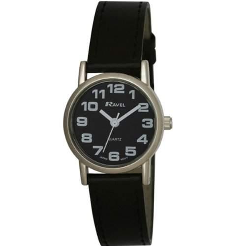 Ravel, R0105072 Damen-Armbanduhr Alyce Quarz analog Kunststoff Schwarz