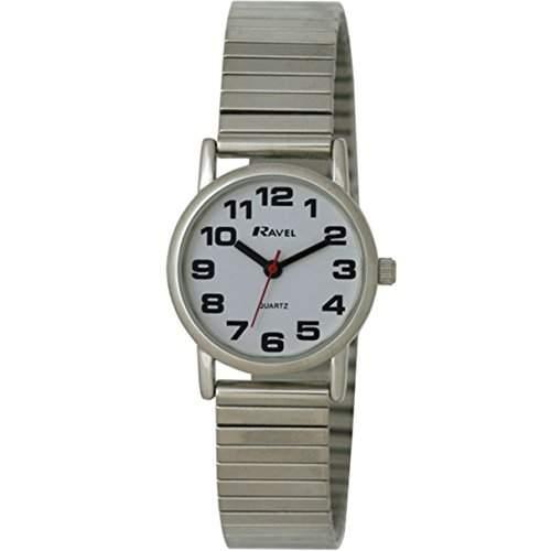 Ravel Damen-Armbanduhr Analog Quarz Edelstahl R0208022S