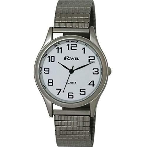 Ravel Herren-Armbanduhr Analog Quarz Edelstahl R0301081S