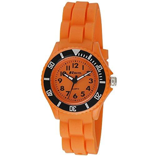 Ravel Kinder Armbanduhr Analog Quarz Orange R1802 8