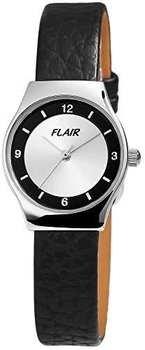 Excellanc Damenuhr mit Metall-Spange Silber Armbanduhr Uhr 196635500009