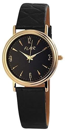 Herrenuhr mit Echtlederarmband Schwarz Armbanduhr Uhr 200701000029
