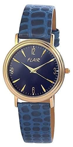 Herrenuhr mit Lederimitationarmband Blau Armbanduhr Uhr 200703000029