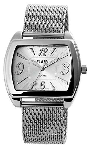 Flair Herrenuhr mit Metallmeshband Uhr 200422500090