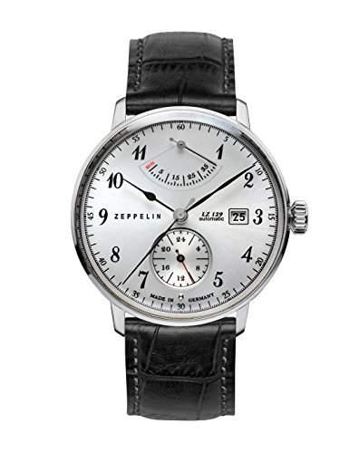Zeppelin Unisex-Armbanduhr Chronograph Quarz Leder 7062-1