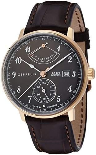 Zeppelin Unisex-Armbanduhr Chronograph Quarz Leder 7064-2