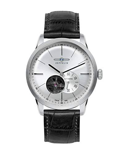 Zeppelin 7364-4 Herren-Uhr FlatLine Automatik