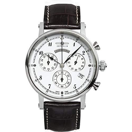 Zeppelin Watches Damen-Armbanduhr XS Analog Quarz Leder 7577-1