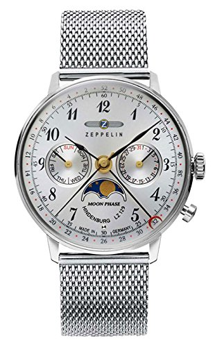 Zeppelin Unisex Armbanduhr 7037M 1