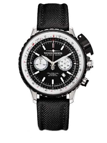 Thunderbirds Air Craft Watch Falcon XXL Flieger Automatikuhr 1069-T01
