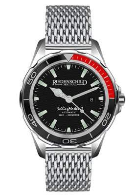 Riedenschild SailingMaster II - 20ATM - Automatik - Saphirglas - Ref 1150-2
