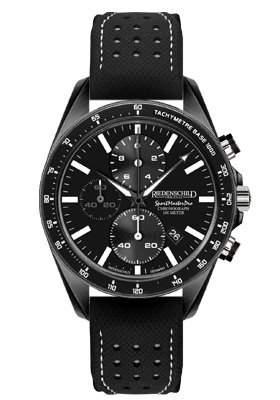 Riedenschild SportMasterPro - 10ATM - Saphirglas - Black IP - Ref 1152-2