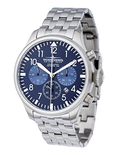 Thunderbirds XL TB1076 04 Flieger Chronograph blau