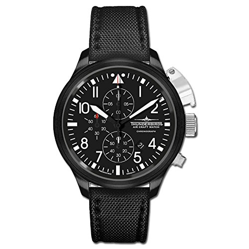 Uhr Thunderbirds Aircraft Black Edition Chrono XL