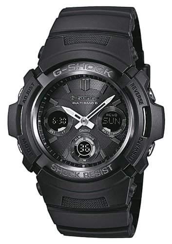 Casio Herren-Armbanduhr XL G-SHOCK Analog - Digital Resin AWG-M100B-1AER