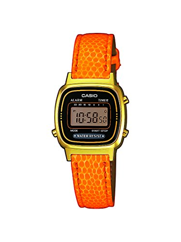 Casio Collection Collection Digital Quarz Leder LA670WEGL 4A2EF
