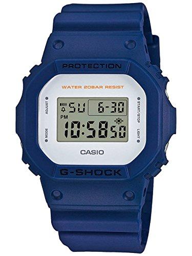 Casio G shock Men Watch Digital Quartz Resin Blue DW 5600M 2ER