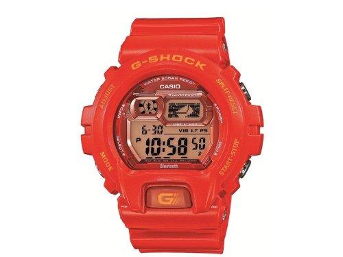 Casio gb x6900b 4er Armbanduhr Armband Kunstharz orange