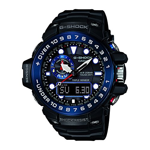 Casio G Shock Superior Series Digital Quarz Resin GWN 1000B 1BER