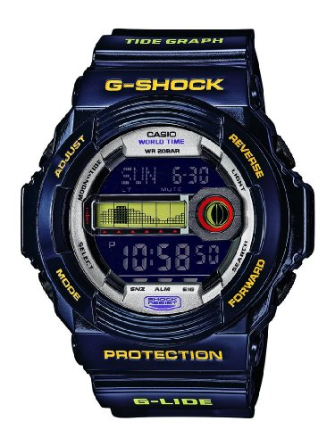 Casio Herren Digital mit Resin Armbanduhr GLX 150B 6ER