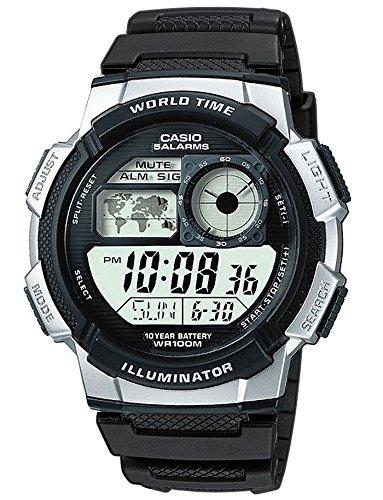 Casio Digital mit Resinarmband AE 1000W 1A2VEF