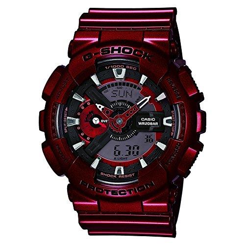 G Shock Neo Metallic Watch Red